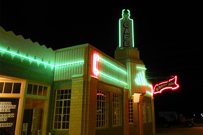 shamrock on route 66