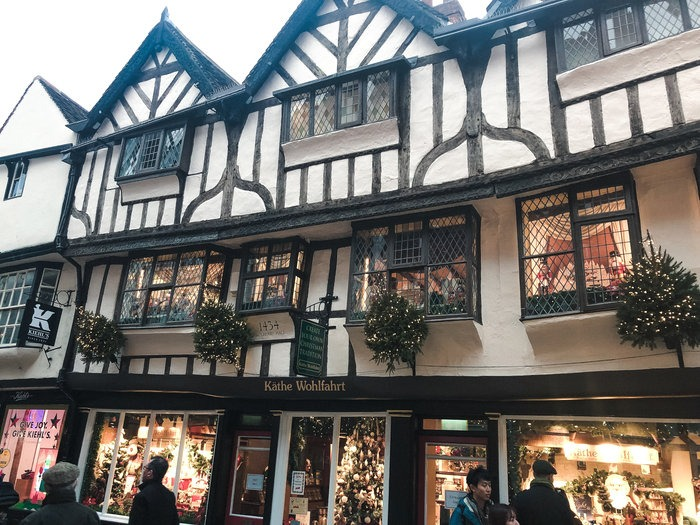 shopping in York on a day trip