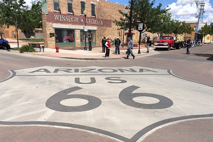 winslow route 66 town