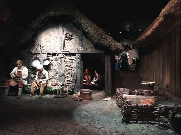 york jorvik attraction inside viking village