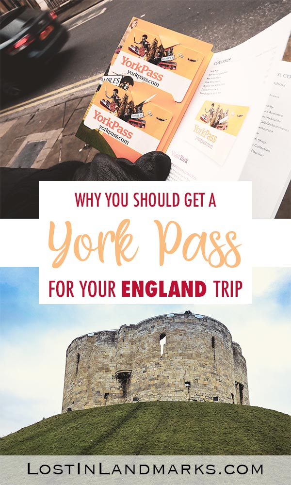 Why you should get a York Pass for your England city break. It's great for a day trip, a weekend break or even a week long stay and it even incorporates some attractions around Yorkshire too. History lovers will adore it and kids will also love what's on offer #uktravel #englandtravel