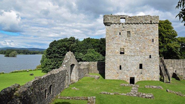 Loch Leven castle scotland