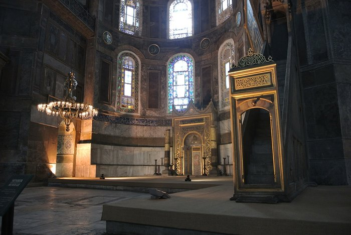 byzantine hagia sophia historical site istanbul
