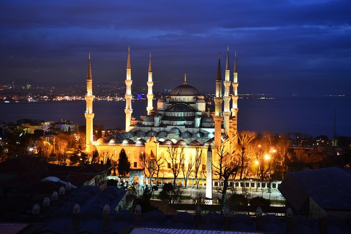 historic blue mosque Istanbul Turkey