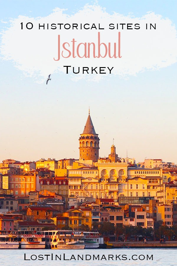 Things to do in Istanbul, Turkey if you love historical sites! From mosques to medieval towers and markets there's so many places to add to your Istanbul city itinerary.