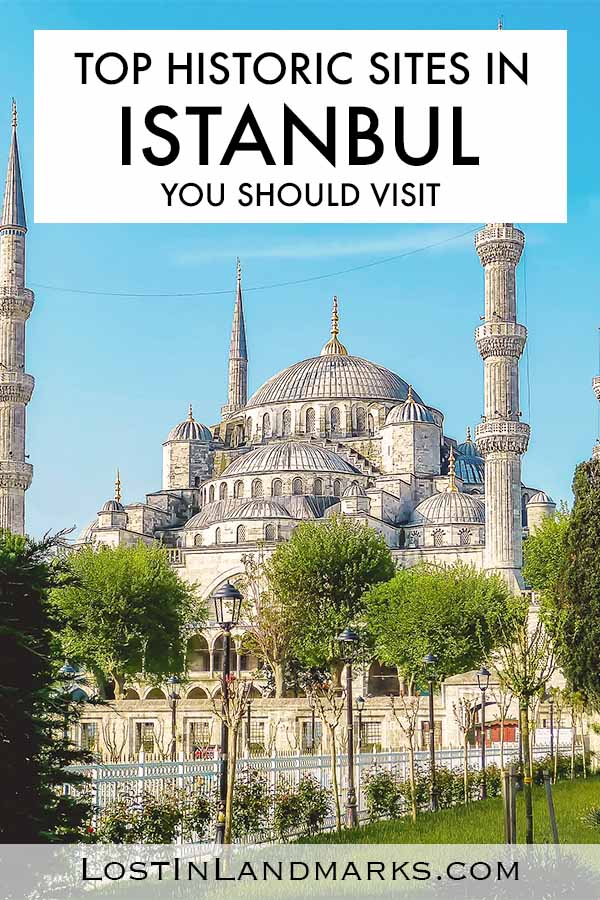 Things to do in Istanbul, Turkey if you love historical sites! From mosques to medieval towers and markets there's so many places to add to your Istanbul city itinerary | Blue Mosque | Hagia Sofia | Basilica Cistern | Grand Bazaar