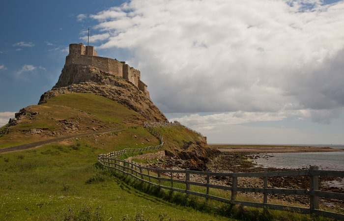 Lindisfarne Castle on the Holy Island