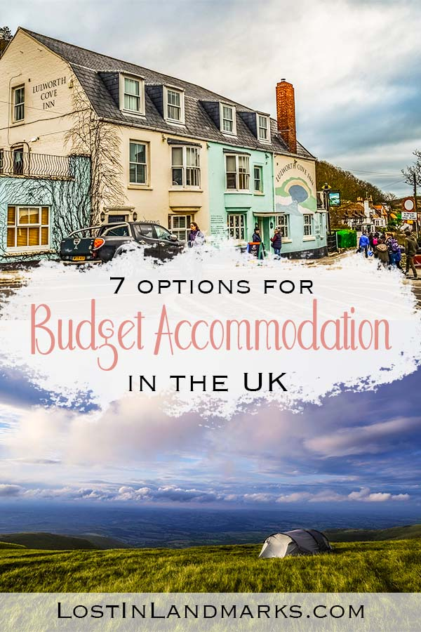 budget accommodation in the UK