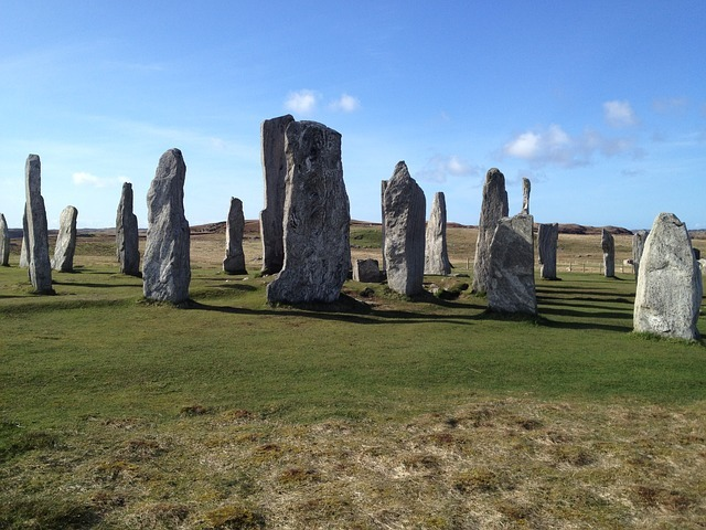Callanish Standing Stones on Isle of Lewis