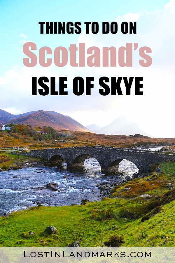 The Isle of Skye in the Highlands of Scotland is a great vacation destination or even day trip from Edinburgh or Inverness. Here are some of the best things to do on the island with attractions such as castles, beaches, whisky distilleries and hiking walks. It's a great Scottish island for all types of travellers.