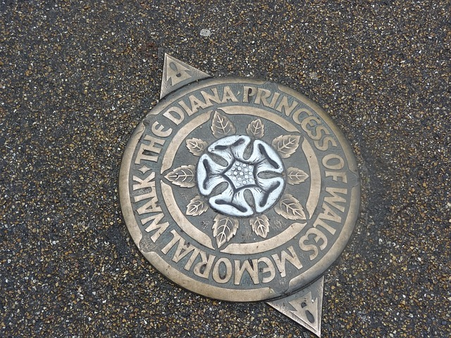 princess diana memorial walk London