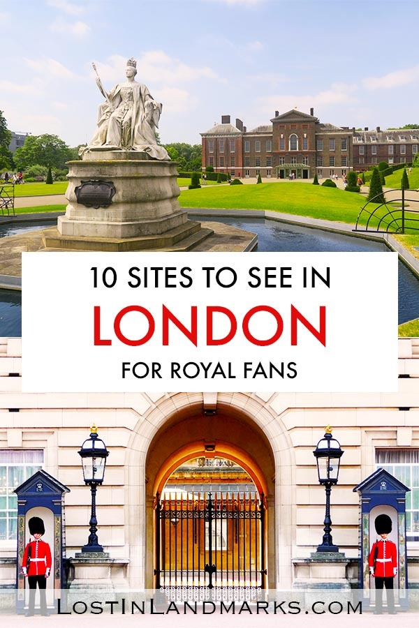 Royal attractions in London - No trip to London is complete without seeing where the Queen lives. There are so many more palaces, gardens and monuments that have a royal connection to visit. Buckingham Palace | Hampton Court | Kensington | Royal Albert Hall | Tower of London