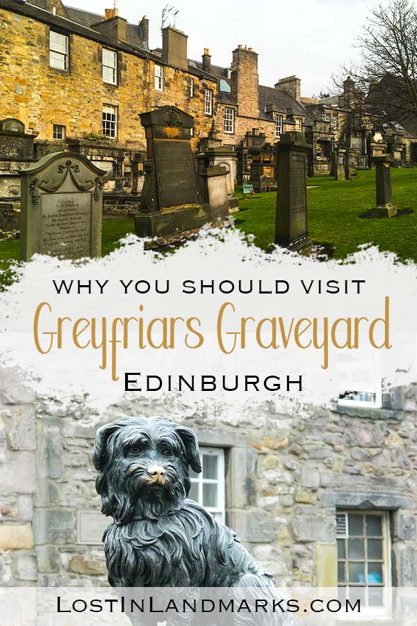 Greyfriars kirkyard is an Edinburgh Attraction for all ages with the charming Greyfriars Bobby story (a Skye terrier dog who was loyal to his master's grave), Harry Potter inspiration (you can even see Tom Riddle's grave!)and also plenty of ghost walks too. Tours go to here or you can just walk around yourself to escape the crowds of the Scottish capital city Edinburgh. When thinking about things to do in Scotland this is a must see! Whether you call it by the Scottish name of kirkyard, graveyard or churchyard or even a cemetery!