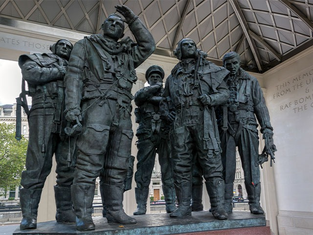bomber command ww2 memorial london