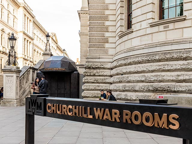 churchill war rooms ww2 london