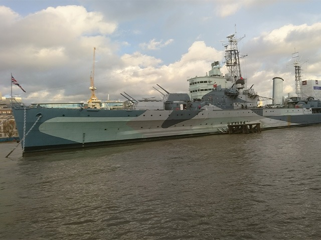 hms belfast ww2 London