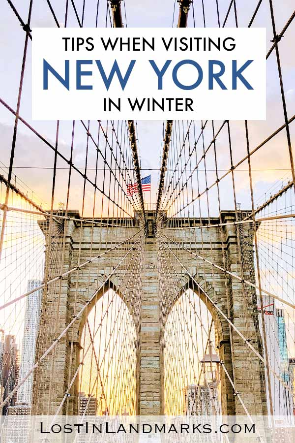 A winter trip to NYC can be great but check these tips to have the best time even in cold weather. If you're visiting for Christmas there's also ideas for you too. Christmas in NYC | Winter in New York | New York Winter Vacation