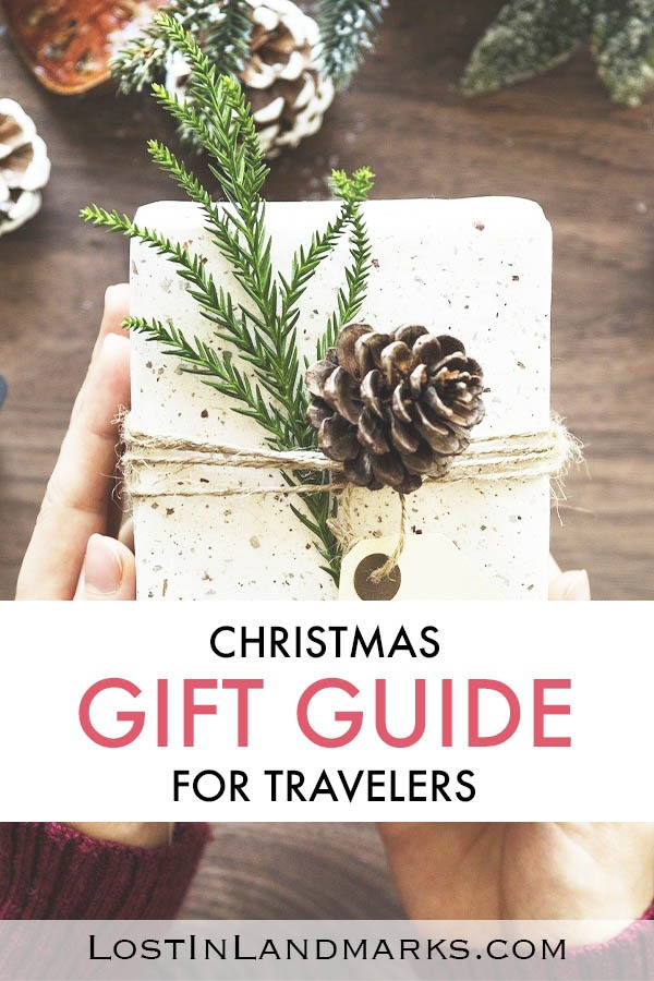 Gift ideas for the travel obsessed person in your life. All types from stocking stuffers to main presents you'll make any traveler happy with this holiday gift guide. Christmas gifts for travelers | gift ideas for travel lovers | gift guide for travellers
