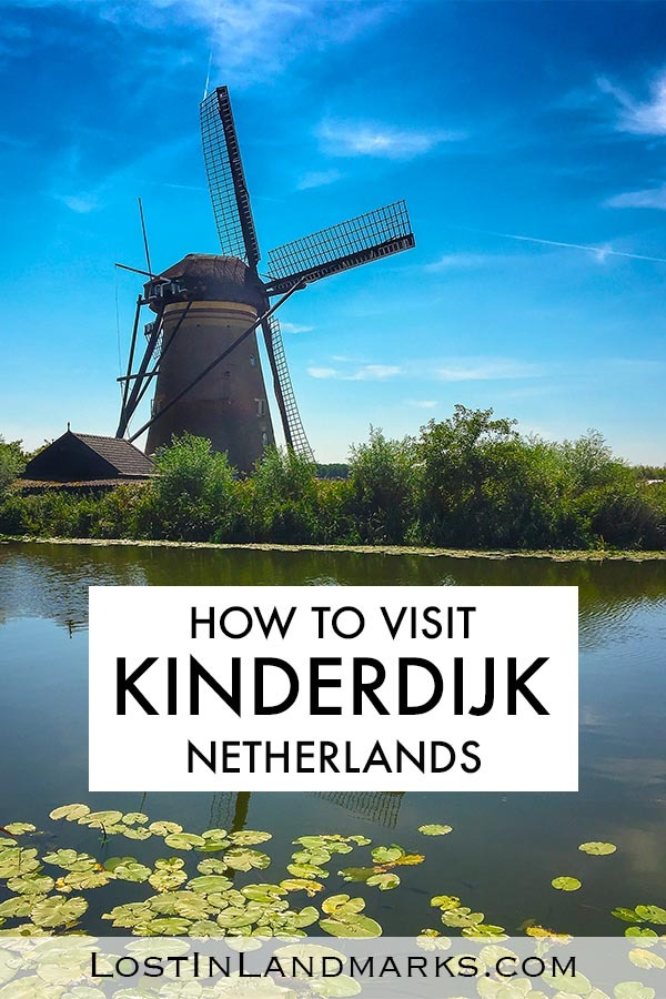 A guide to visiting the UNESCO world heritage site of Kinderdijk in the South of the Netherlands. The site of 19 historic windmills is a bucket list destination for Europe. Windmills in Netherlands | Kinderdijk UNESCO windmills | Windmills in Holland